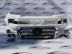 Бампер Передний Land Cruiser 200 стиль 2016 год