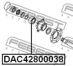 Подшипник ступичный задний 42x80x38 Febest DAC42800038 DAC42800038