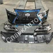 Бампер рестайлинг Lexus RX 2010-2015 в 2016г F-Sport