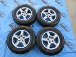 Колеса Toyota R16 5*114,3 + липучка Dunlop 215/70/16