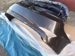 Новый задний бампер (коричневый / VC5) Hyundai Solaris Седан 14-17г