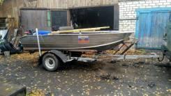 Wyatboat WB-390. 2018 год, длина 4,00м., двигатель подвесной, 9,90л.с., бензин