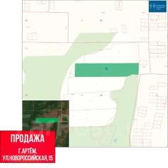 Продается земельный участок в Артемовском Г. О. 30 000кв.м., собственность. План (чертёж, схема) участка
