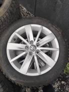 Продам комплект колес r15 на vw polo(оригинал)