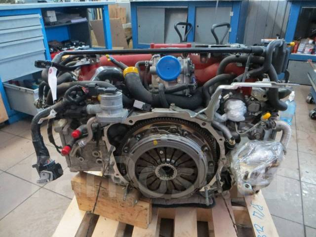 Контрактный двигатель из Европы на Субару гарантия