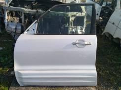 Дверь передняя левая-2001г MMC Pajero V75W 6G74