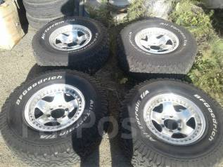 "Комплект колес для джипа Лэнд Крузер, Патрол, Сафари, Прадо и т. д. x16"" 6x139.70 ET0 ЦО 110,0мм."