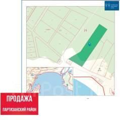 Продажа земельного участка в Партизанском районе. 10 000кв.м., собственность. План (чертёж, схема) участка
