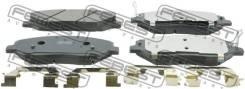 Колодки тормозные передние комплект Febest 1201SANF