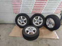 Комплект колес Toyota Estima MCR40 Bridgestone Blizzak VRX 205/65R15