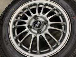 A-Tech Schneider MID R14 4*100 5.5j et45 + 175/70R14 Dunlop Winter Max