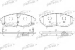 Колодки тормозные дисковые передн KIA: Sorento 02- Patron PBP1735