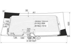Стекло Заднее С Обогревом Chrysler TownCountry Voyager/Dodge Caravan 00-07 XYG арт. DB09847 RW/H/X