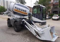 Yugong. Самоходная мобильная бетоносмесительная установка SDM1500, 2 700куб. см., 2,60куб. м.