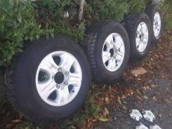 Колеса Bridgestone DM-V1 275/65 R17 на Land Cruiser 100