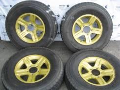 Комплект литых дисков Suzuki на шинах 235/80R16 Dunlop