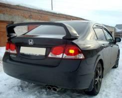 """Высокий спойлер """"Type R"""" на багажник Honda Civic 4D (Хонда Цивик 4Д)"""