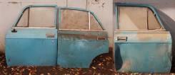 Двери для а/м москвич 2140 синие
