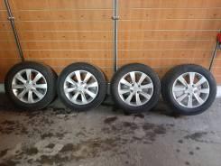 """Продам комплект колес с зимней резиной. 6.0x16"""" 4x114.30 ET45 ЦО 60,1мм."""