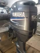 Yamaha. 50,00л.с., 4-тактный, бензиновый, нога L (508 мм), 2003 год