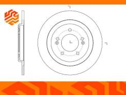 Диск тормозной G-Brake GR12022 задний