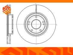 Диск тормозной вентилируемый G-Brake GR20829 передний