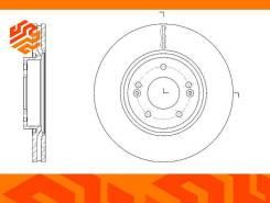 Диск тормозной вентилируемый G-Brake GR21308