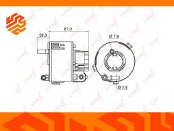 Фильтр топливный Lynxauto LF961M