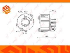 Фильтр топливный Lynxauto LF993M