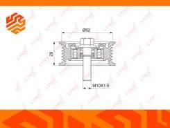 Ролик натяжной приводного ремня Lynxauto PB7063