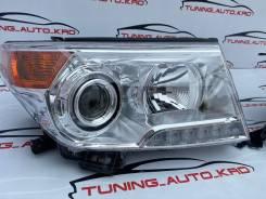 Фары Toyota Land Cruiser 200 2012-2015 год светлые