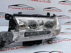 Фары Toyota Land Cruiser 200 с 2016 года с бегающим поворотником светл
