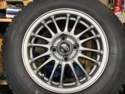 A-Tech Schneider MID R14 4*100 5.5j et45 + 185/70R14 Dunlop Enasave