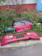 Бампер задний с крышкой багажника