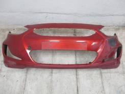 Бампер передний Hyundai Solaris RB Accent IV 2010 - , 865114l000