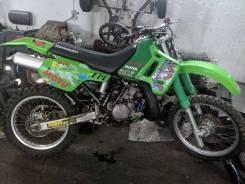 Kawasaki KDX 200SR. 200куб. см., исправен, без птс, с пробегом