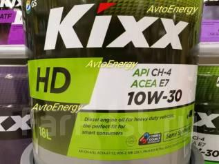 Kixx HD. 10W-30, полусинтетическое, 18,00л.