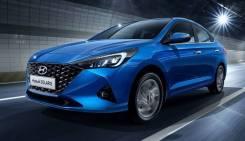 Новый передний бампер Hyundai Solaris II 20-
