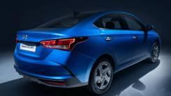 Новый задний бампер Hyundai Solaris II 20-