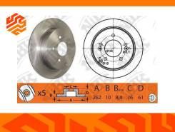 Диск тормозной NIBK RN1386 задний (Япония)