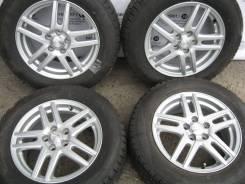 Комплект литых дисков Weds ravrion на шинах 195/65R15 Goodyear