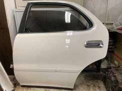 Дверь левая задняя на Toyota cresta Gx90 jzx90