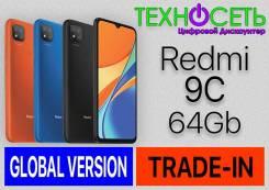 Xiaomi Redmi 9C. Новый, 64 Гб, Красный, Оранжевый, Серый, Синий, Черный, 3G, 4G LTE, Dual-SIM, NFC. Под заказ