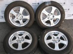 Комплект литых дисков Weds Ravrion на шинах 195/65R15 Pirelli