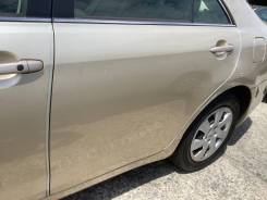 Дверь задняя левая золотая Toyota Camry ACV40 2AZFE