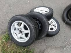 Продам комплект зимних колёс 5x100 r14 185/65 r14