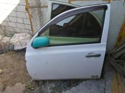 Дверь передняя левая Nissan March 12 кузов