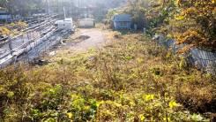 Участок на Выселковой под бизнес. 873кв.м., собственность, электричество. Фото участка