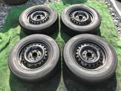 Колеса 195/70R15 Dunlop Enasave EC202 + штамповка 5X114/3