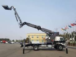 Elephant E-Sky. Коленчато-телескопическая 40-метровая автовышка марки Элефант, 40,00м. Под заказ